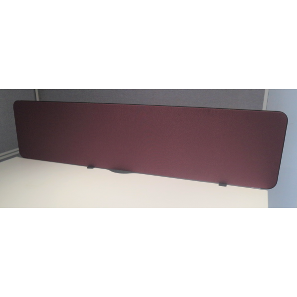 Purple 1600w Desk Mounted Screen