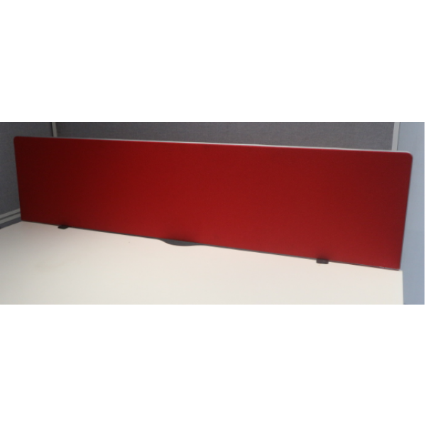 Red 1600w Desk Mounted Screen