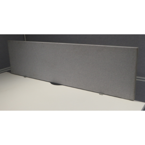 Grey 1400w Desk Mounted Screen