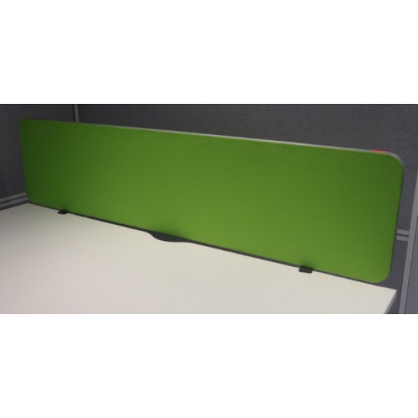 Lime Green 1600w Desk Mounted Screen