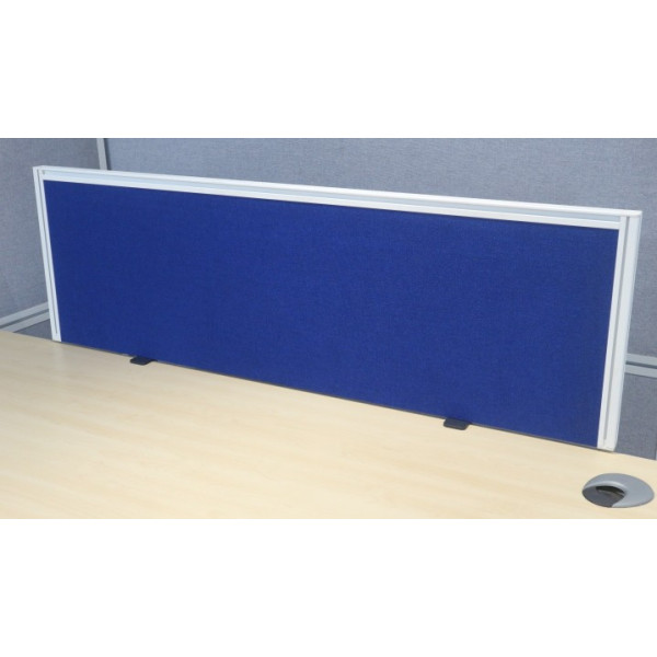 Blue 1200w Desk Mounted Screen - As New