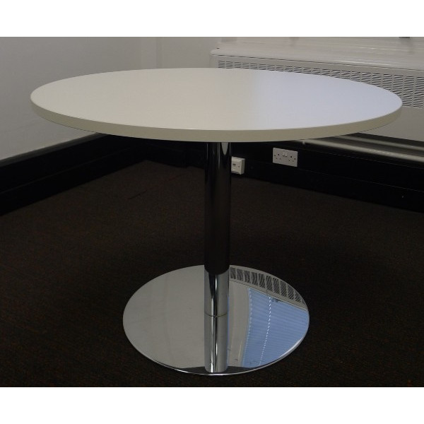 Senator White 800 Diameter Meeting Table
