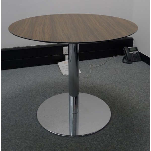 Senator Zebrano 900 diameter Table