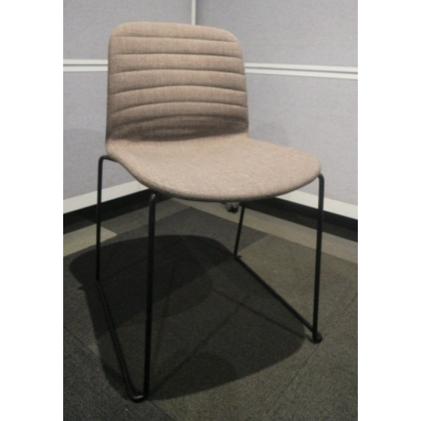 Dark Grey Meeting Chair