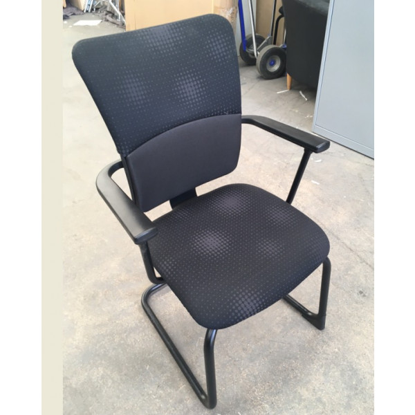 Steelcase Black Meeting Chair