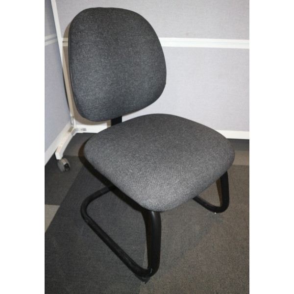 Charcoal Meeting Chair