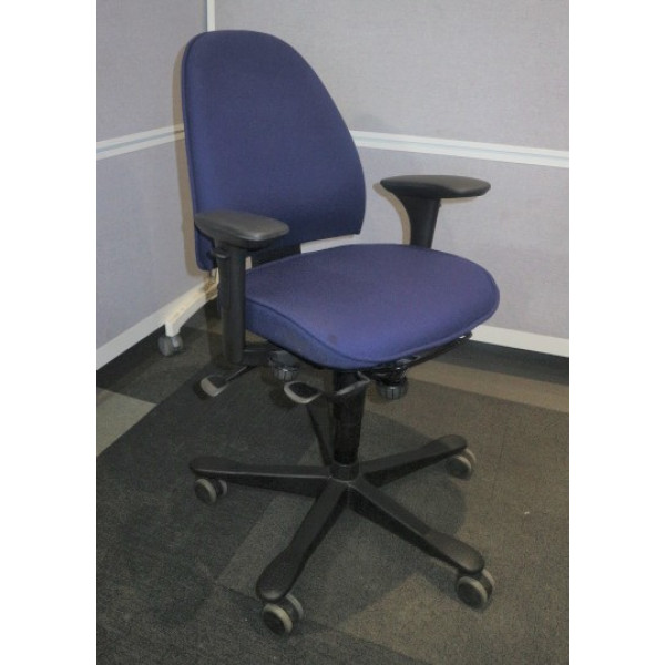 Blue Operators Chair