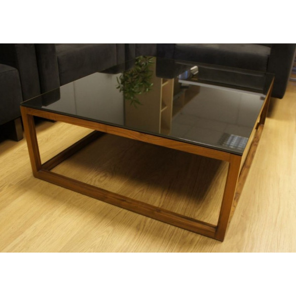 Boss Design Black Glass Coffee Table