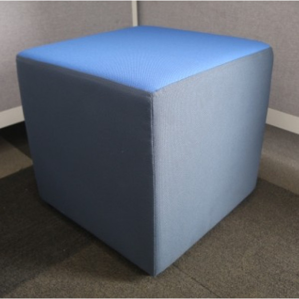 Blue/Grey Cube Seating