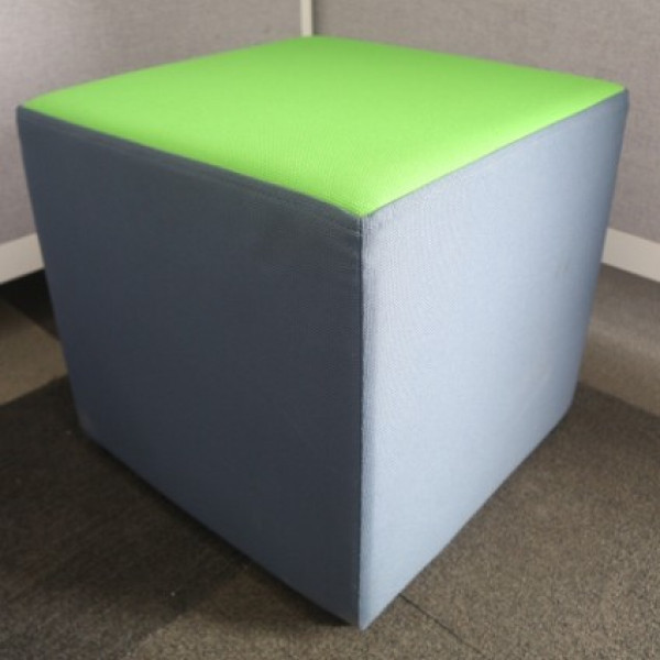 Green/Grey Cube Seating