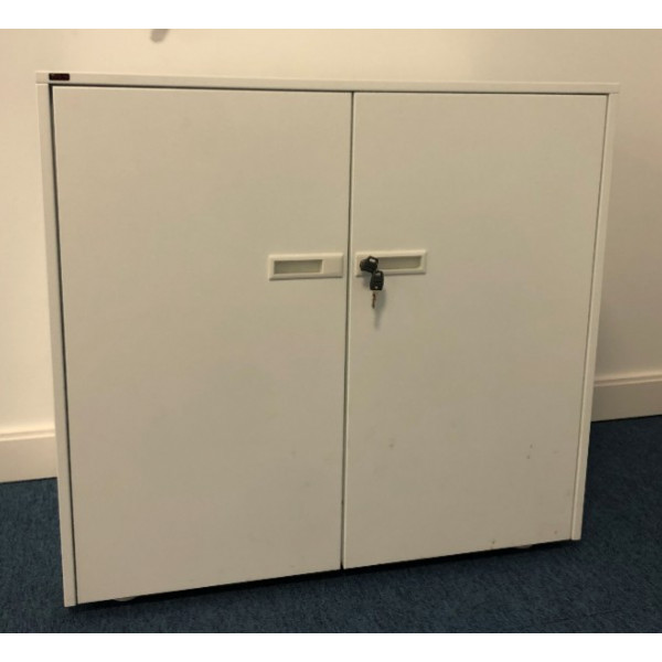 Guialmi White Metal 745h D/D Cupboard