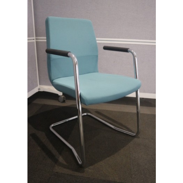 Teal Meeting Chairs