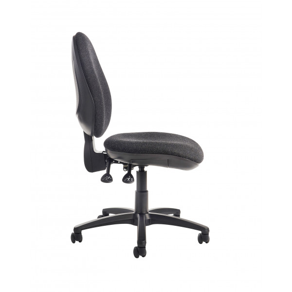 Jota high back operator chair no arms charcoal