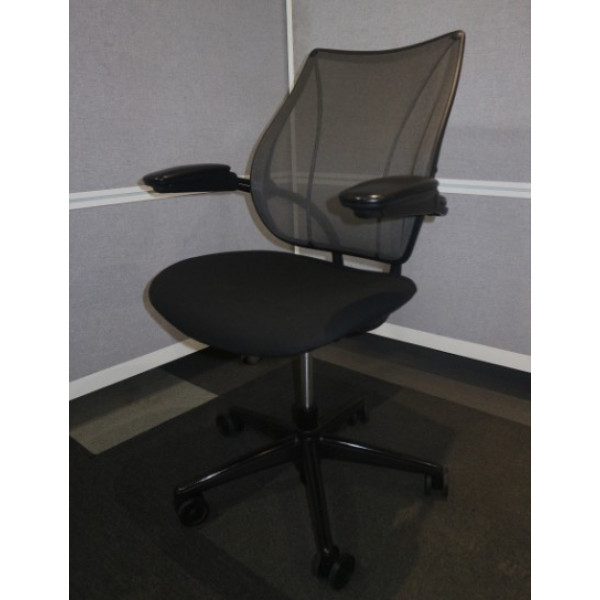 Humanscale Liberty Black Mesh Back Operators Chair