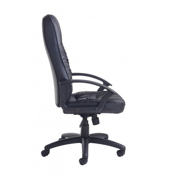 King managers chair - Black