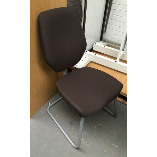Brown Meeting Chair