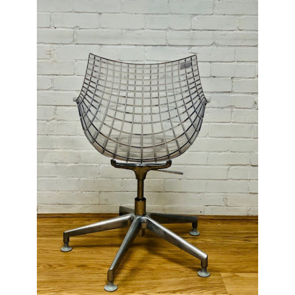 Meridiana Clear Swivel Chairs