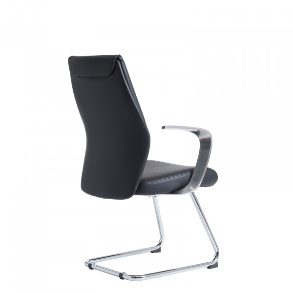 Limoges visitors chair - black
