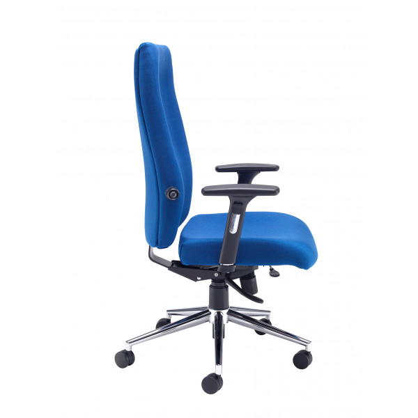 Mode 400 posture High back chair - Blue