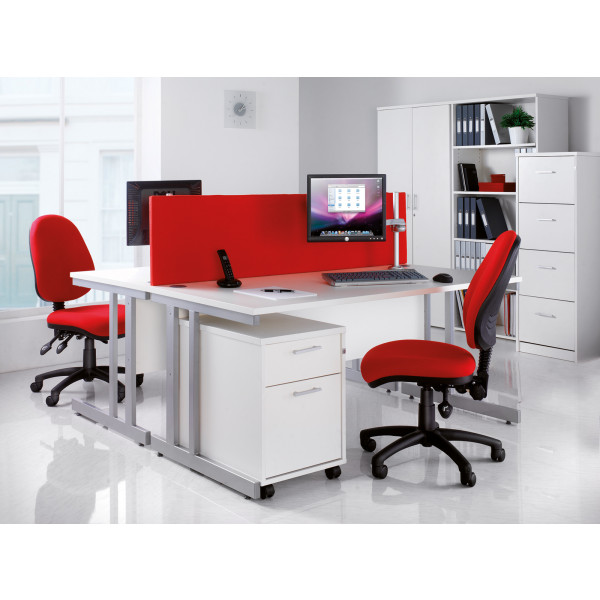 Momento left hand ergonomic desk