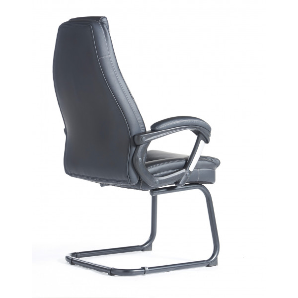Noble visitors chair - black
