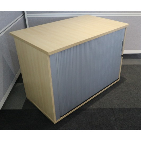 Dams Maple 730h Tambour Cupboard