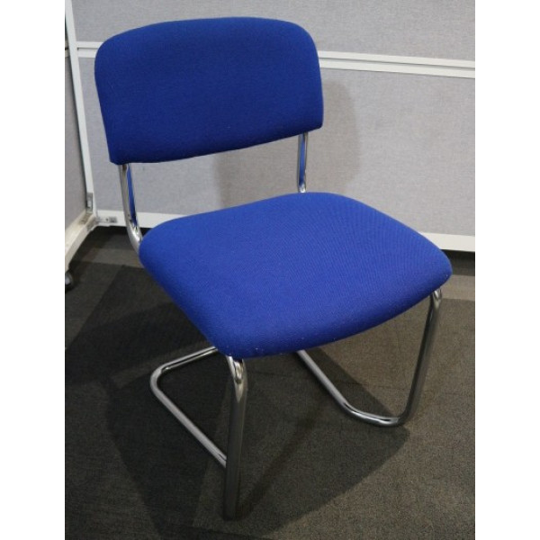 Blue Stacking Meeting Chair