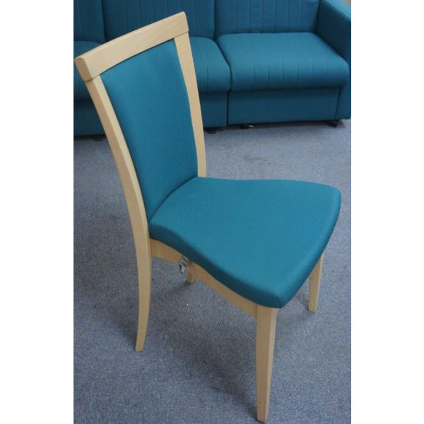 Wallis Teal Meeting Chair