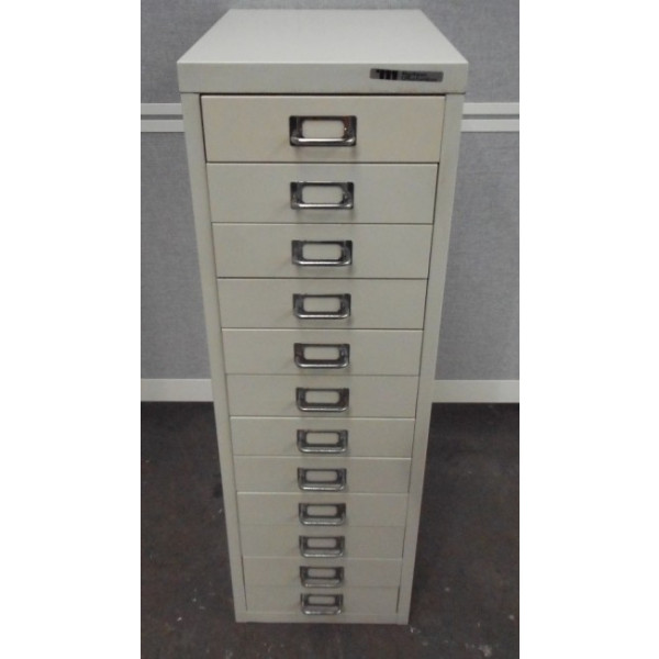 Grey 12 Drawer Multi Drawers