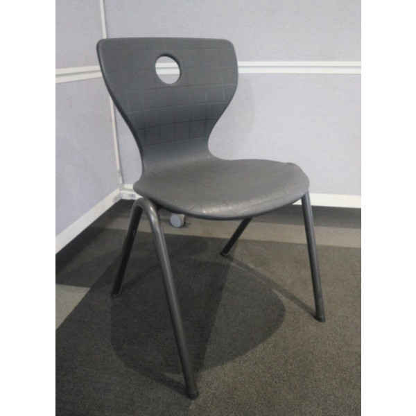 Compass-Lupo Grey Student Chair