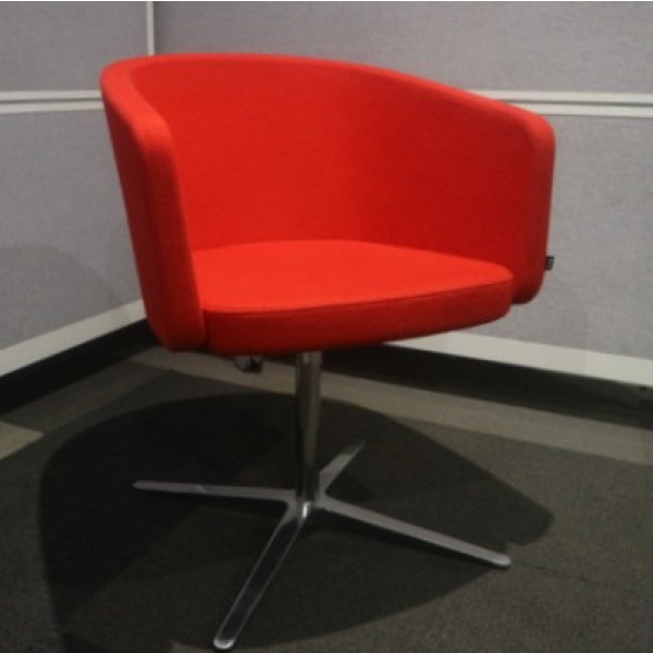 Bene Red Tub Chair