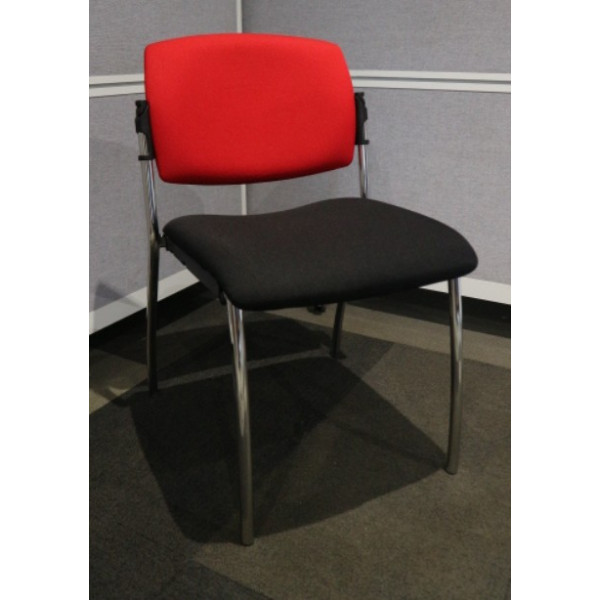 Black & Red Meeting Chair