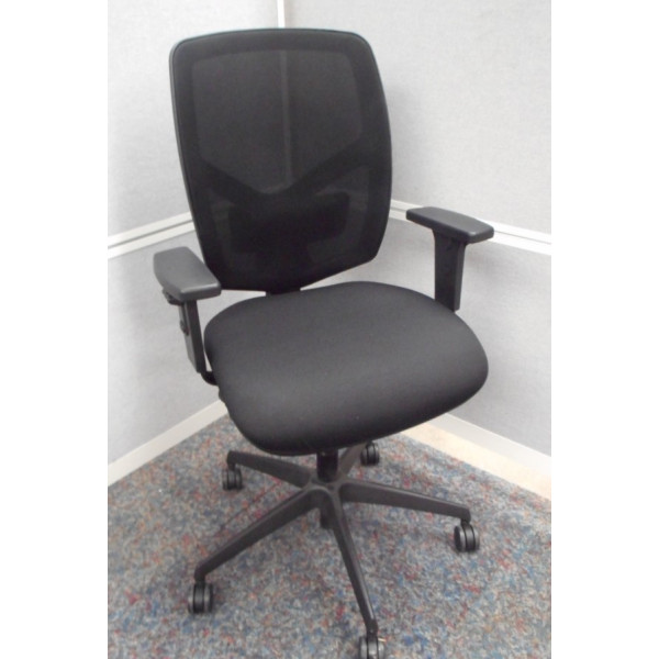 Black Mesh Back Operators Chair