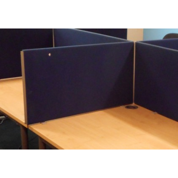 Straight Blue 800 Desk Mounted Screen