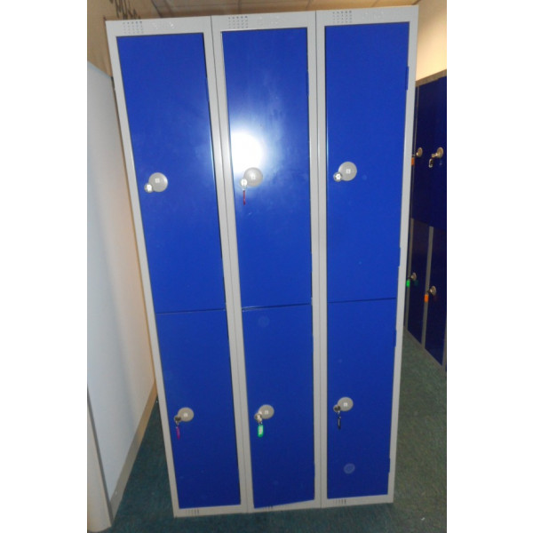 Blue & Grey 2 Door Lockers