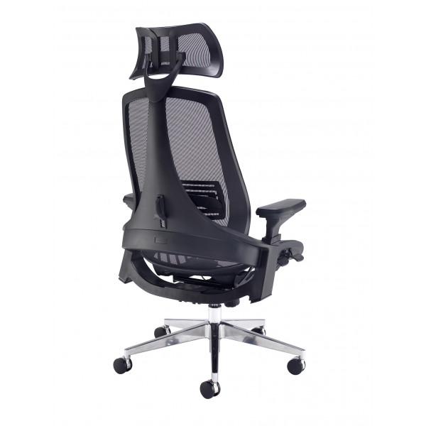 Sorrento mesh back posture chair - black