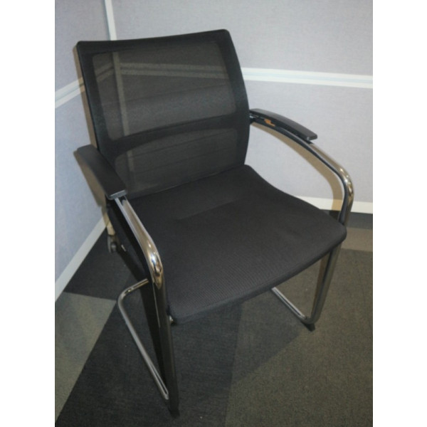 Sedus Black Mesh Back Meeting Chair