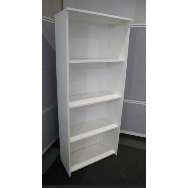 White 1775h Bookcase