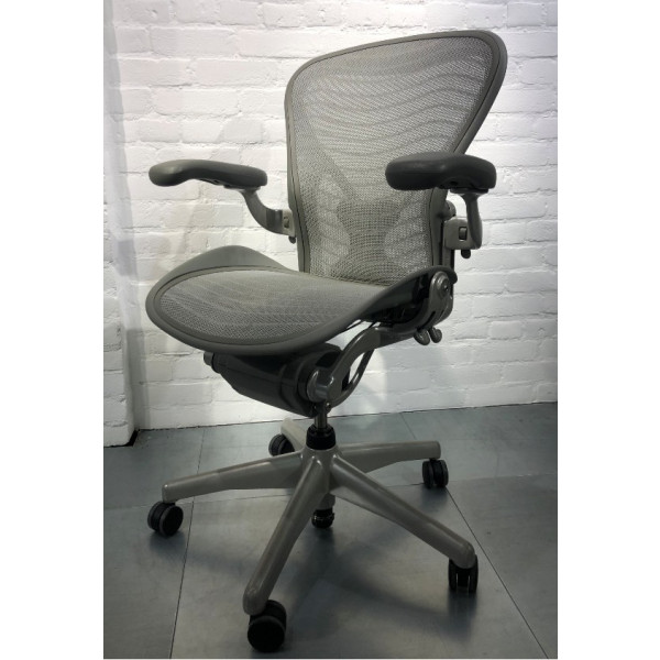 "Herman Miller Aeron Chair - Size B - for users 5'5"" to 6'1"""