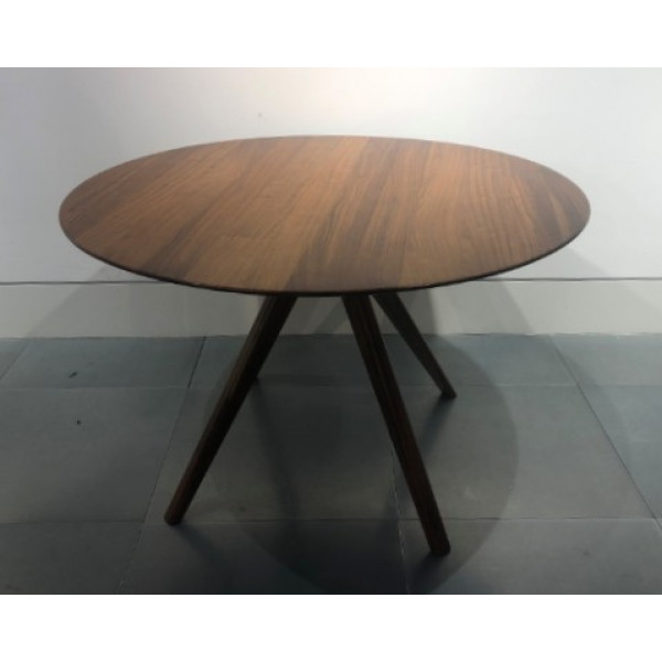 Solid Walnut 1185 diameter Table
