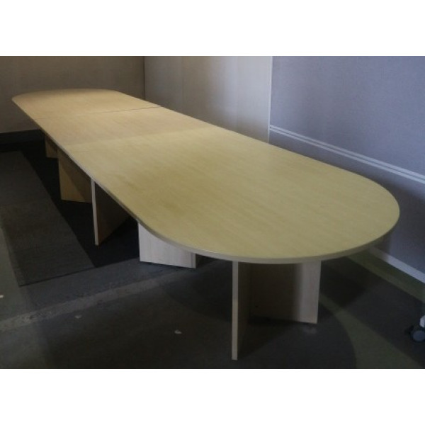 Maple 4800 x 1200 Oval Boardroom Table