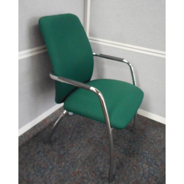 Dark Green Meeting Chair