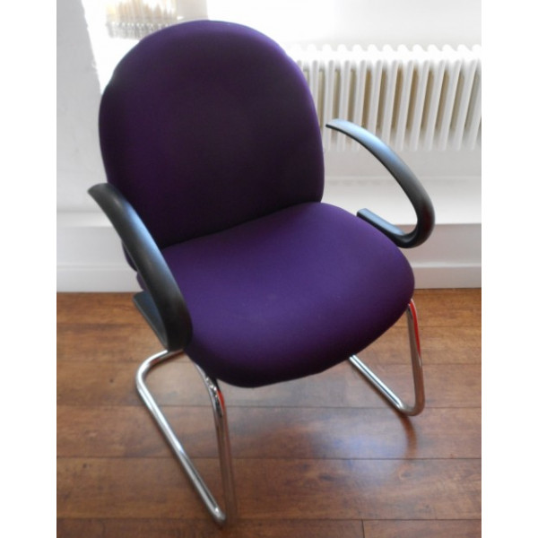 Purple Meeting Chair