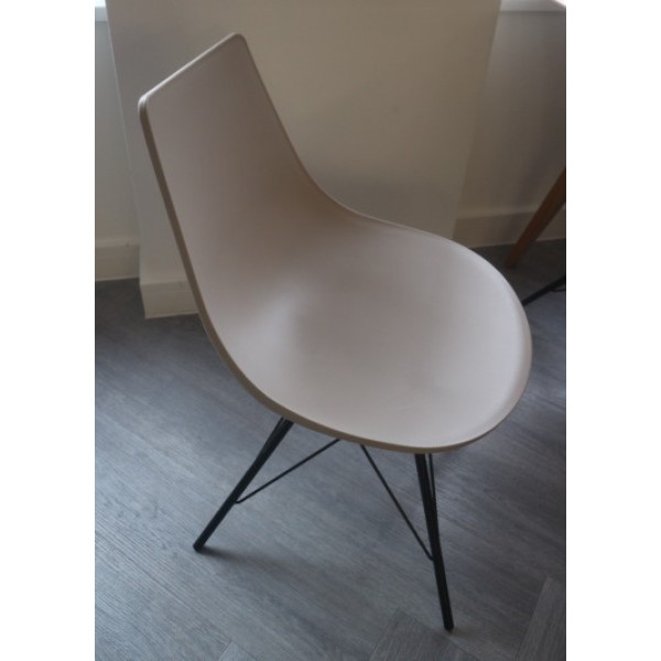 Grey Cafe Chair