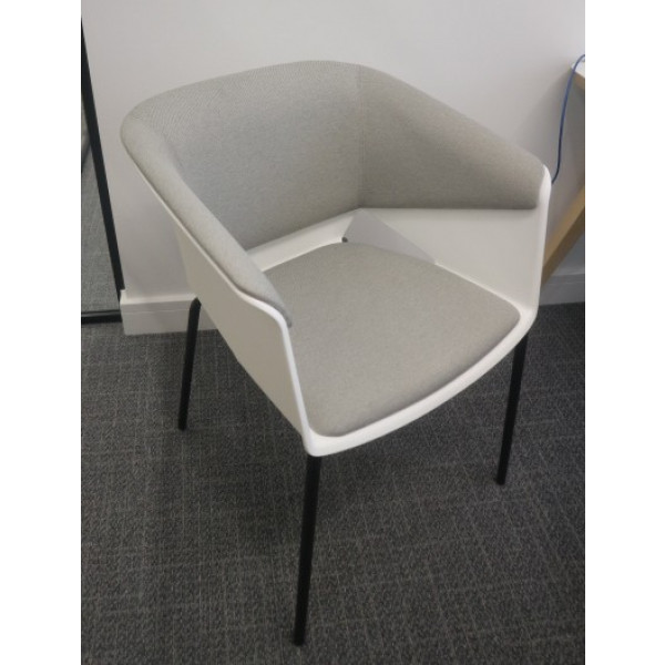 White/Grey Meeting Chair