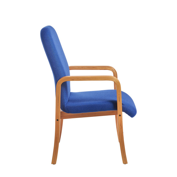 Yealm arm chair in Blue