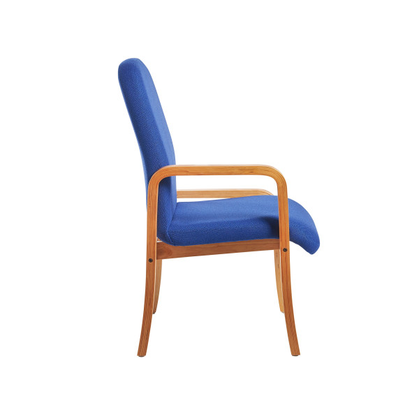 Yealm chair right arm in Blue